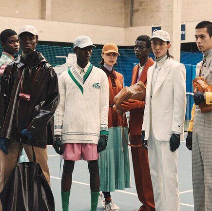 The latest Lacoste Fashion Show