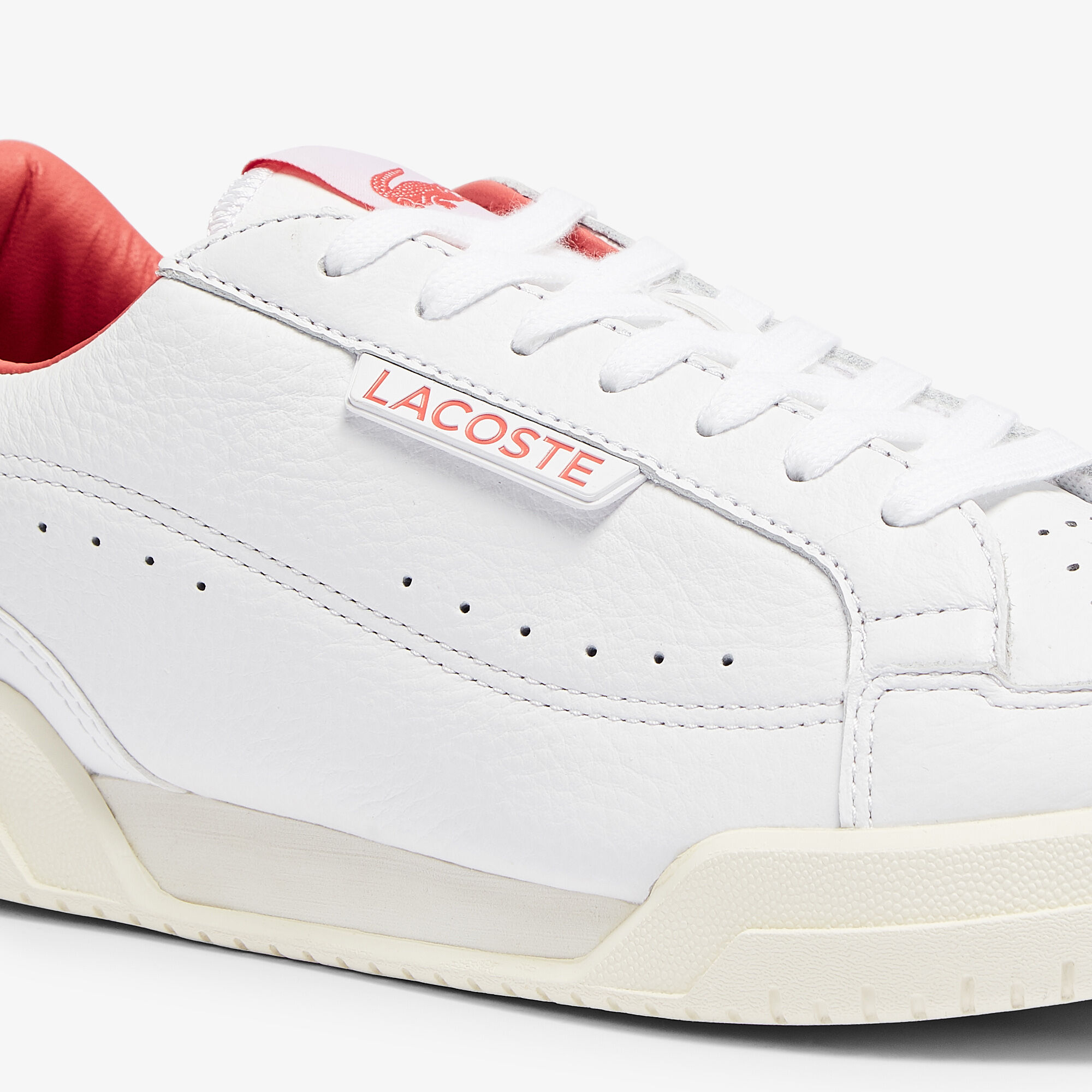 Men's Twin Serve Luxe Leather Trainers