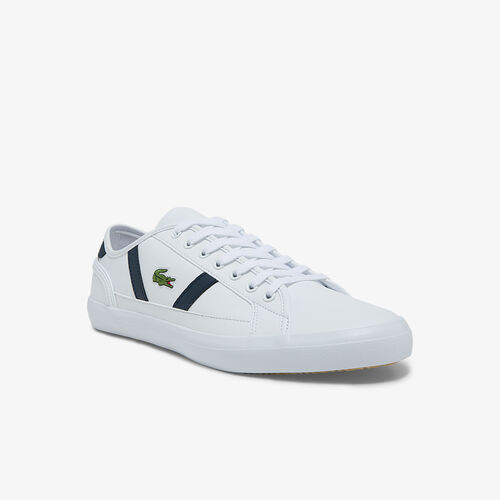 Men's Sideline Leather And Synthetic Vulcanised Sneakers
