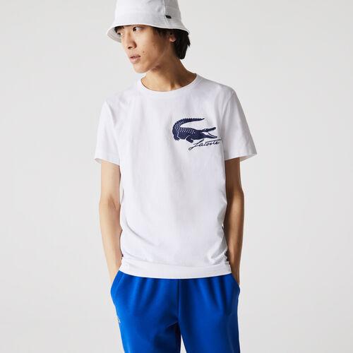 Men's Lacoste Sport French Open Edition Crocodile Print T-shirt
