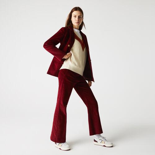 Women's Flared Corduroy Pants