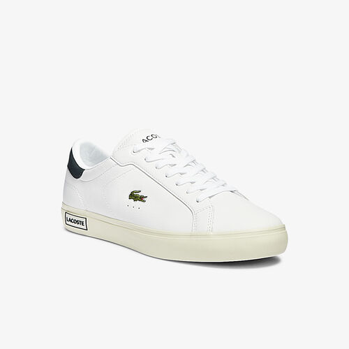 Men's Powercourt Smooth Leather Trainers