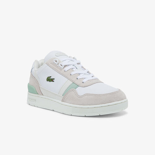 Women's T-clip Leather, Suede And Synthetic Sneakers