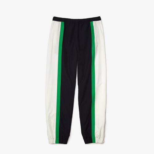 Men's Lightweight, Water-repellent Colorblock Tracksuit Pants