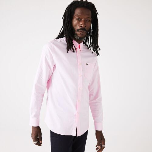 Men's Regular Fit Oxford Cotton Shirt