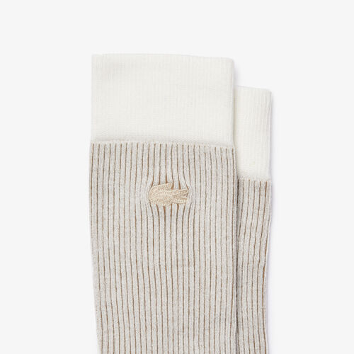 Men's Heritage Ribbed Cotton Sock Three-pack