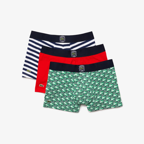 Men's Father's Day Stretch Cotton Trunk 3-pack