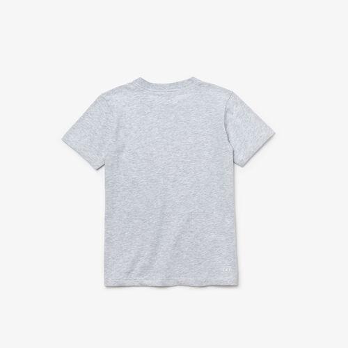 Kids' Lacoste Sport Tennis Technical Jersey Oversized Croc T-shirt