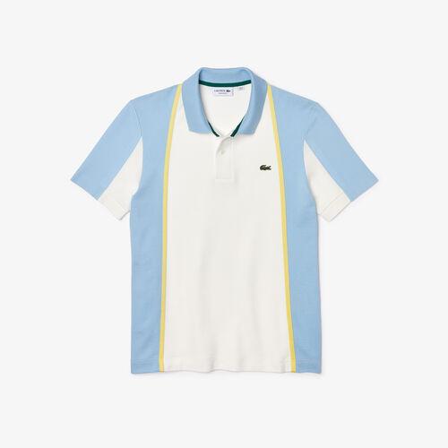 Men's Heritage Regular Fit Colorblock Cotton Piqué Polo