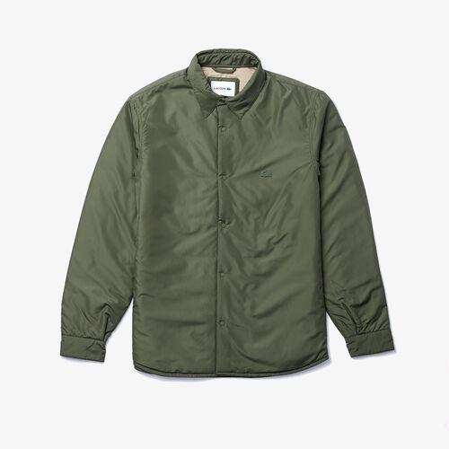 Men's Water-resistant Quilted Overshirt