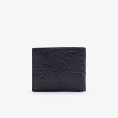 Men's Fitzgerald Small Embossed Leather Wallet