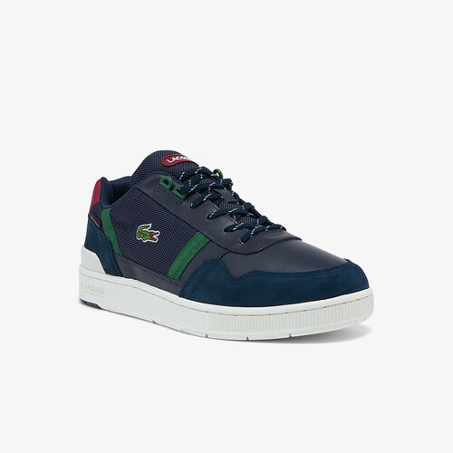 Men's T-clip Leather And Synthetic Winterised Sneakers
