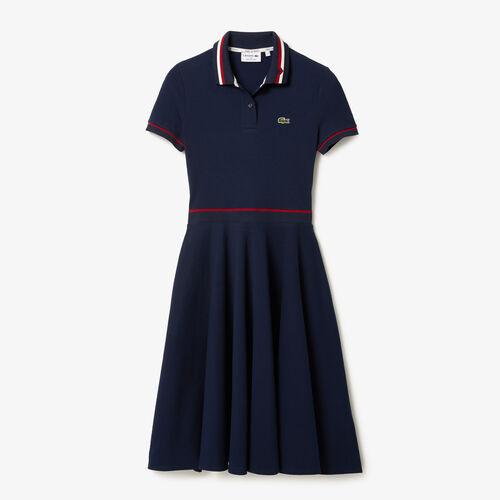 Women's Made In France Organic Cotton Petit Piqué Polo Dress