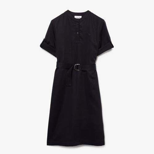 Women's Belted Flowy Shirt