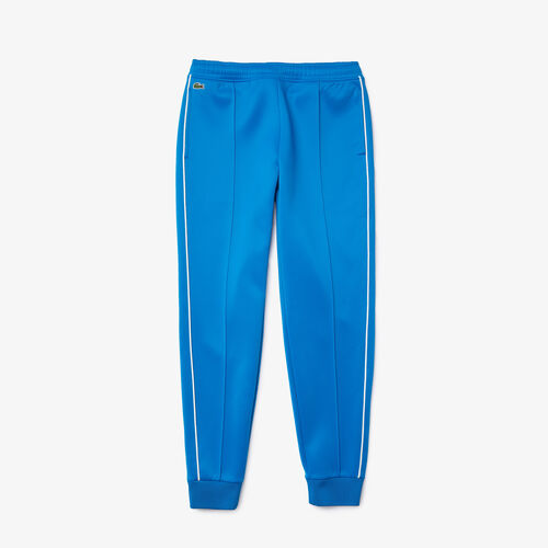Women's Contrast Piped Pleated Jogging Pants