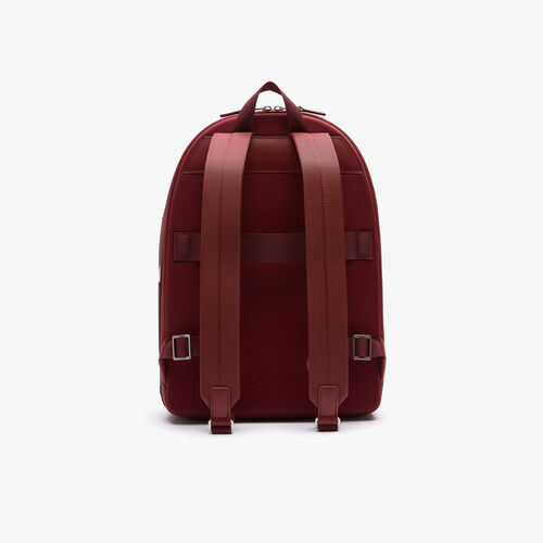Men's Chantaco Piqué Leather Backpack