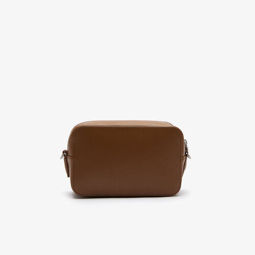 Women's Chantaco Lettered Strap Piqué Leather Shoulder Bag