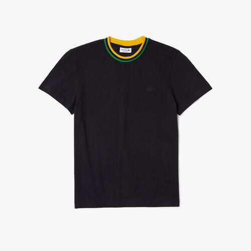 Men's Crew Neck Ultra-light Breathable Piqué T-shirt