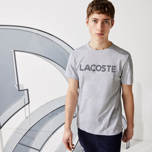 Men's Lacoste Sport X Novak Djokovic Breathable Print T-shirt