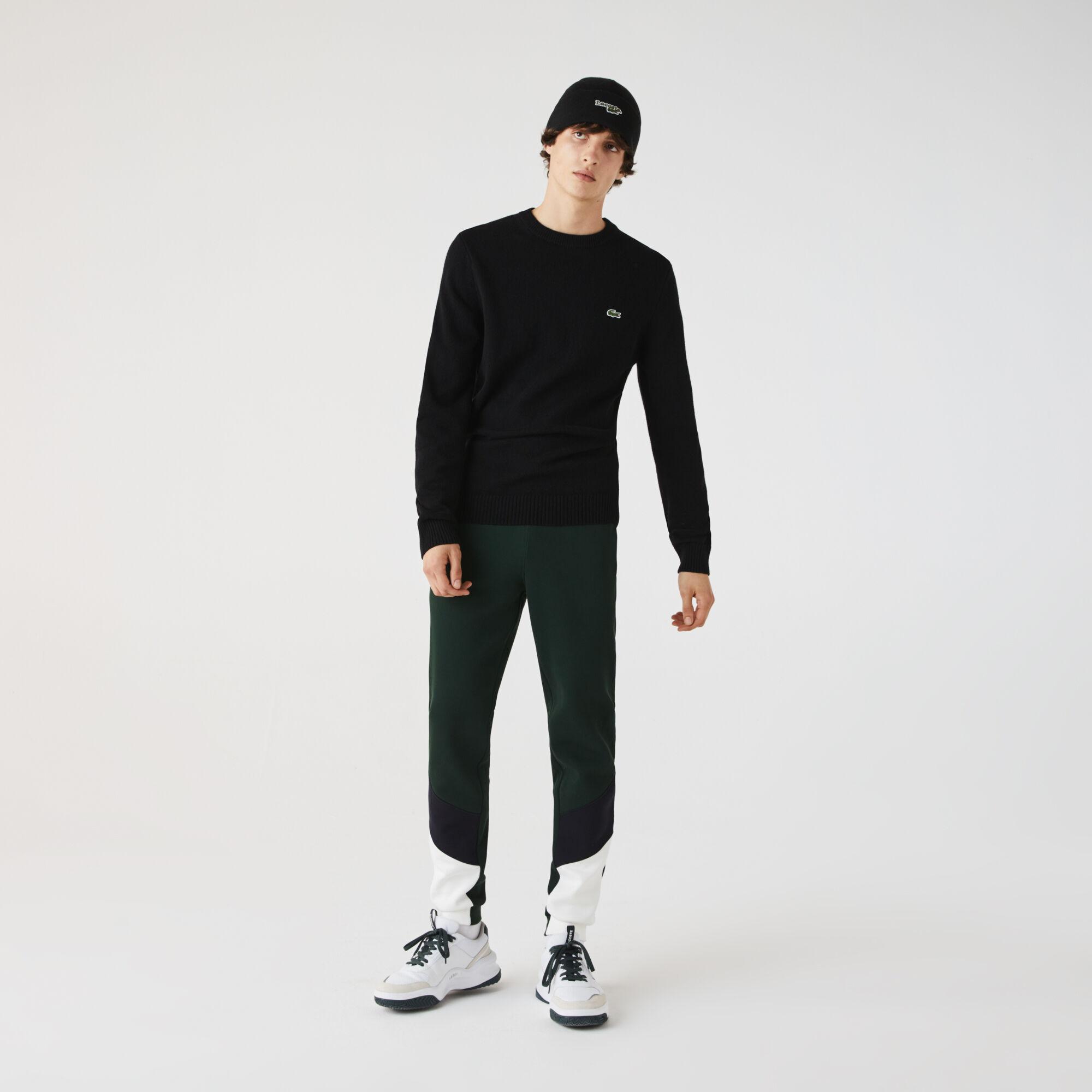 Men's Crew Neck Wool Sweater