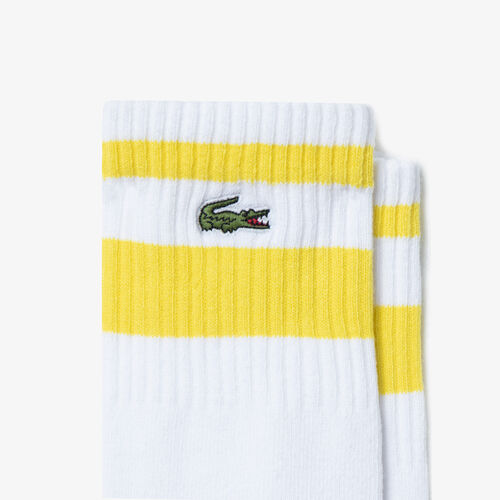 Men's Lacoste Sport Long Stretch Cotton Tennis Socks