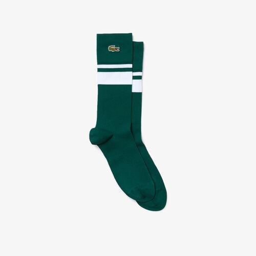 Men's Lacoste Sport Compression Zone Striped Socks