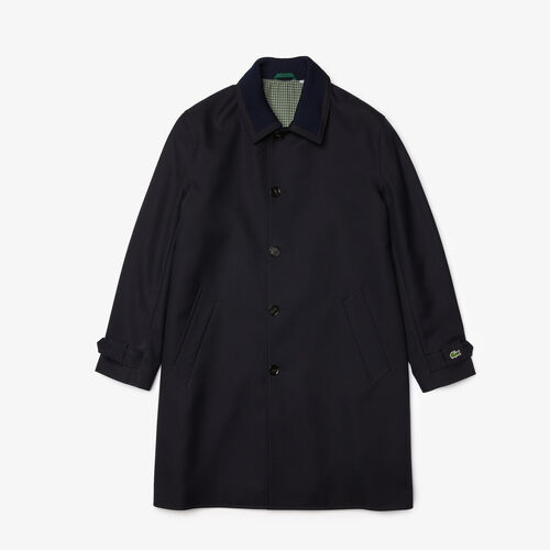 Unisex Wool Blend Straight Fit Jacket