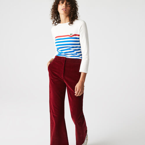 Women's Made In France Striped Organic Cotton T-shirt