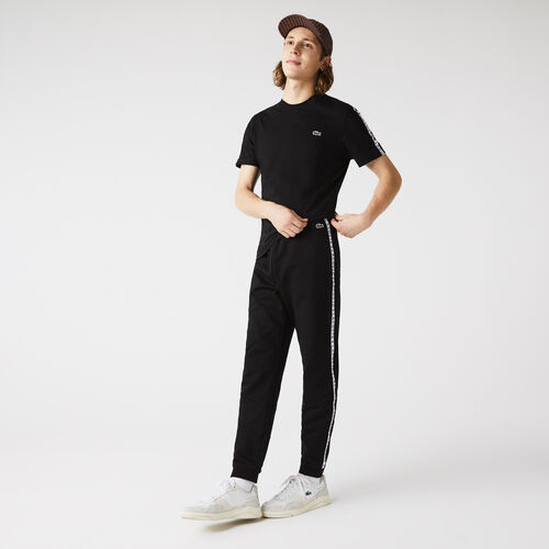 Men's Signature Striped Colorblock Fleece Jogging Pants