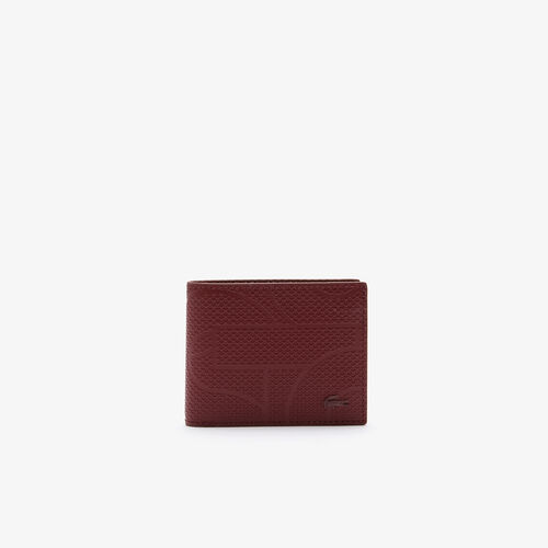 Men's Chantaco Small Graphic Piqué Leather Wallet