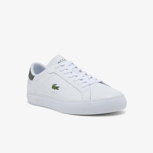 Men's Powercourt Leather Sneakers
