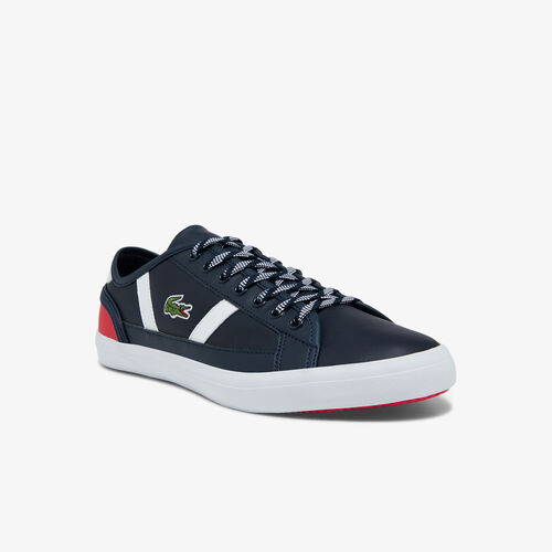 Men's Sideline Leather And Synthetic Colour-pop Sneakers