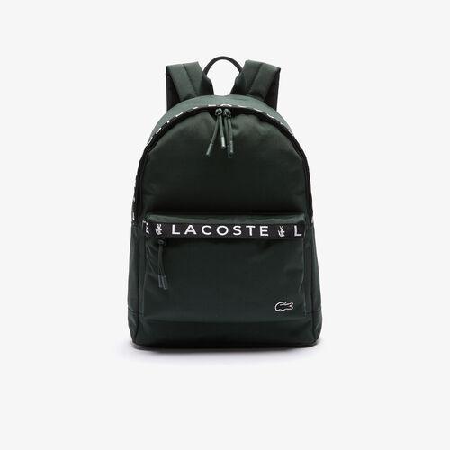 Men's Neocroc Lettered Bands Canvas Backpack