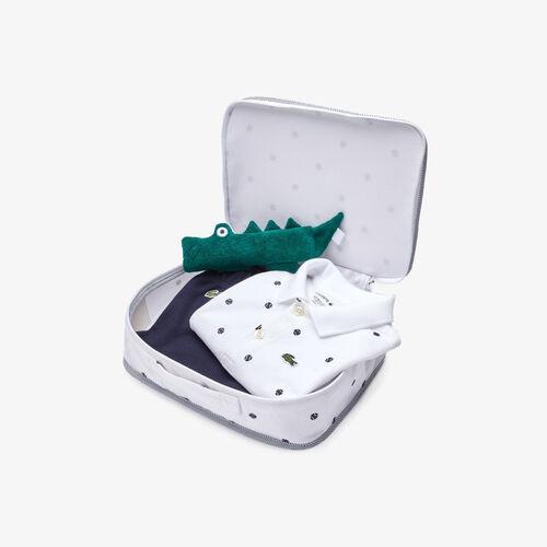 Kids' Rattle And Organic Cotton Pajama Box Set