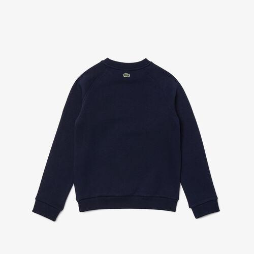 Boys' Crocodile Print Fleece Sweatshirt