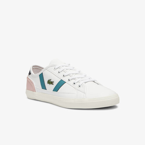 Women's Sideline Leather And Synthetic Trainers