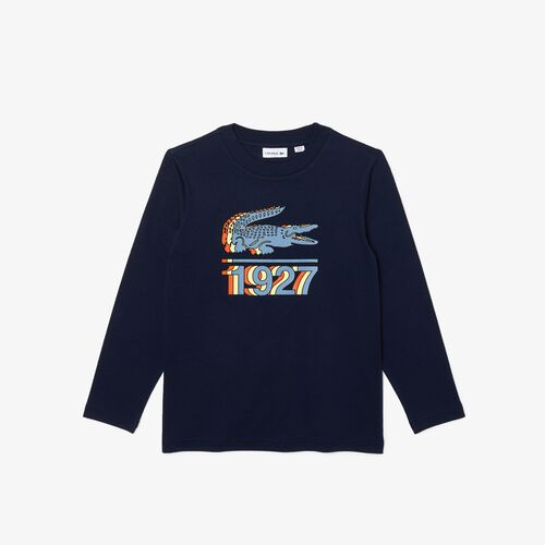 Boys' Printed Cotton T-shirt