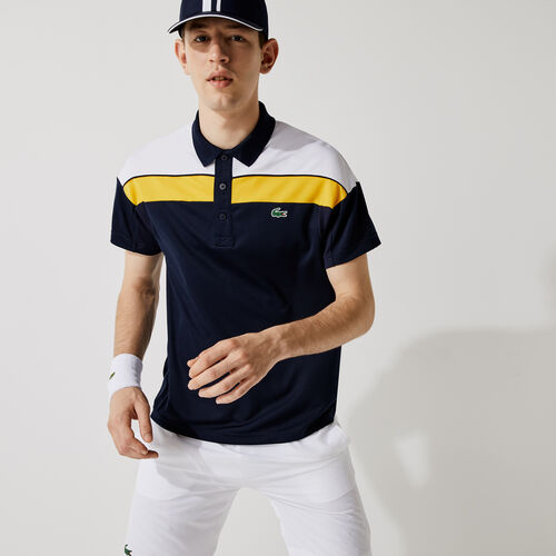 Men's Lacoste Sport Thermo-regulating Piqué Regular Fit Polo