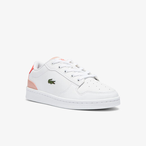 Children's Masters Cup Leather And Synthetic Trainers