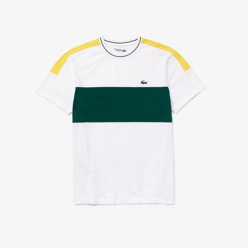 Men's Lacoste Sport Ultra-light Colorblock Cotton T-shirt